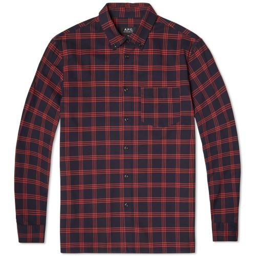 A.P.C. Button Down Overshirt