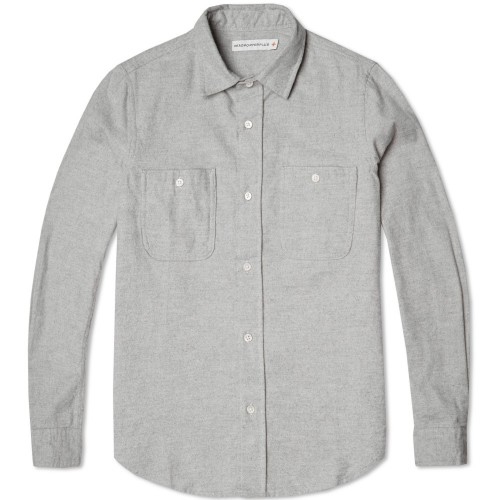 Head Porter Plus Elbow Patch Shirt
