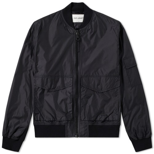 Our legacy patch pocket bomber jacket