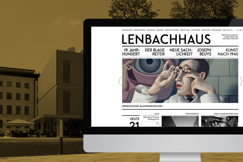 Lenbachhaus Website