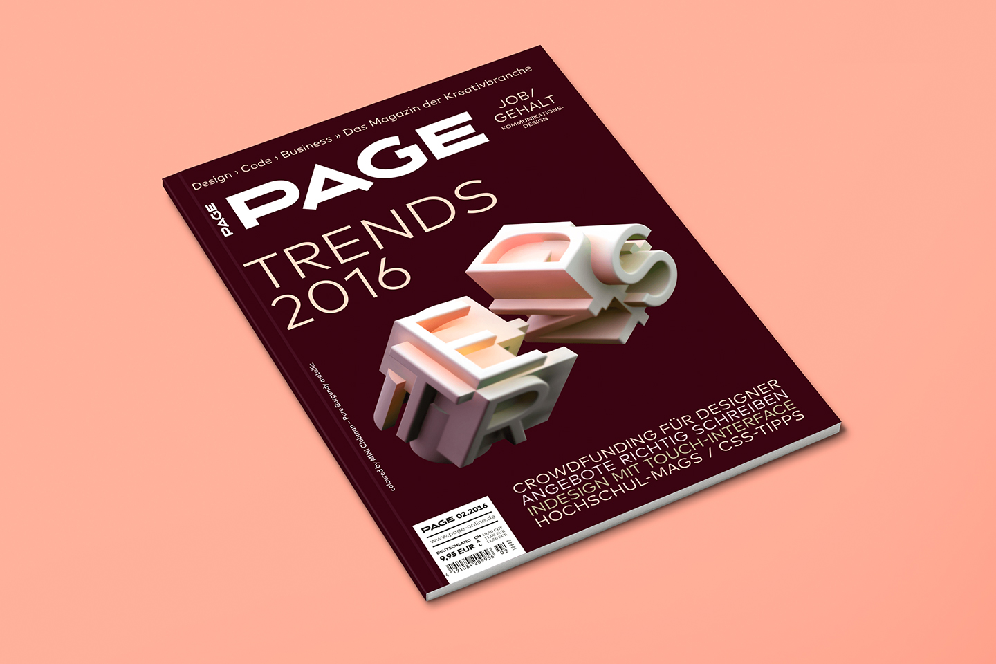 PAGE Cover Artwork – Trends 2016